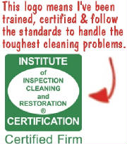 Cleaning Certification Logo