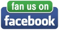 Check us out on FaceBook Page Logo!